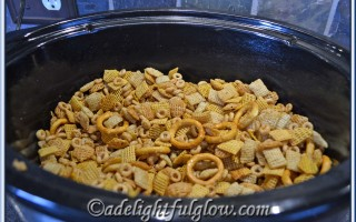 Crockpot Party Mix