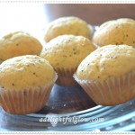 Lovely Lemon Poppyseed Mini Muffins!