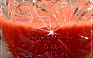 Applesauce Jello Salad