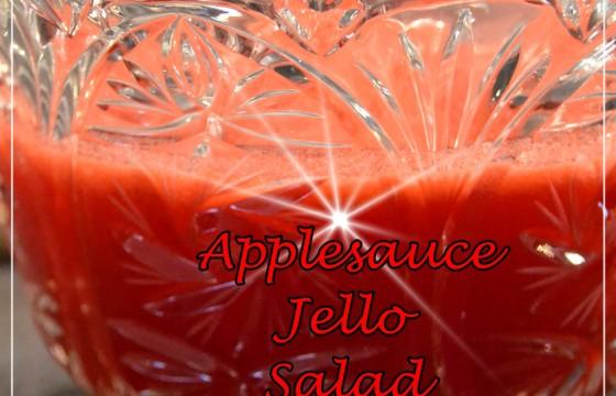 Applesauce Jello Salad