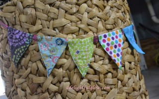 A Fabric Pennant Banner