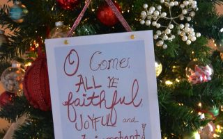 O Come All Ye Faithful Free Printable